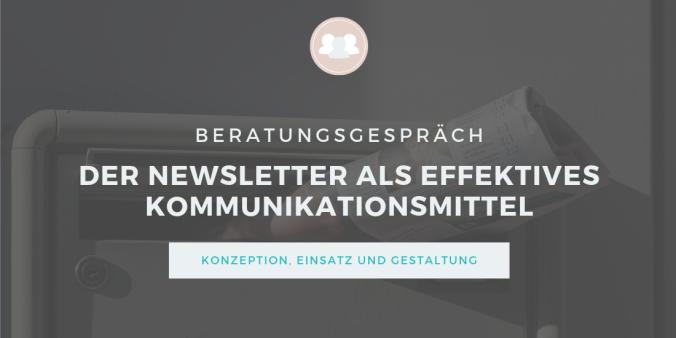 Beratungs-Icon: Nesletter-Beratung für Vereine, Stiftungen, Verbände, Non-Profit-Organisationen und Selbstständige