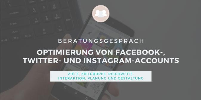 Beratungs-Icon: Social Media - Optimierung von Facebook-, Twitter-, Instagram- und Pinterest-Accounts von Vereinen, Stiftungen, Verbänden, Non-Profit-Organisationen und Selbstständigen