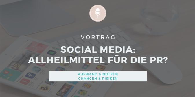 Vortrags-Icon: Social Media in der Öffentlichkeitsarbeit für Vereine, Stiftungen, Verbände, Non-Profit-Organistationen und Selbstständige